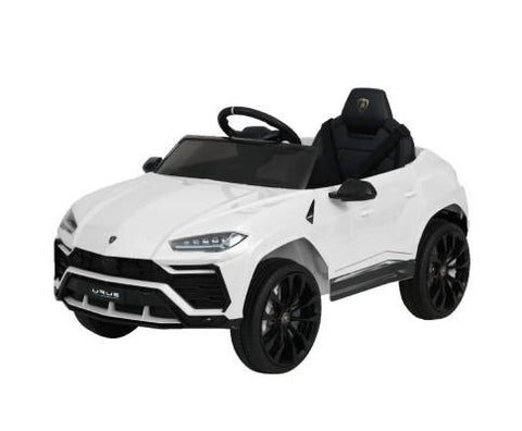 12V Electric Kids Ride On Toy Car Licensed Lamborghini URUS Remote Control White