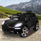 Porsche Macan Style Electric Ride on Car - Black