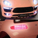 Porsche Macan Style Electric Ride on Car - Pink