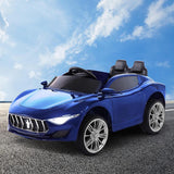 Maserati Inspired Electric Ride on Car - Blue