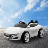 Maserati Inspired Electric Ride on Car - White