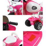 Motorbike Rigo Ride On - Pink