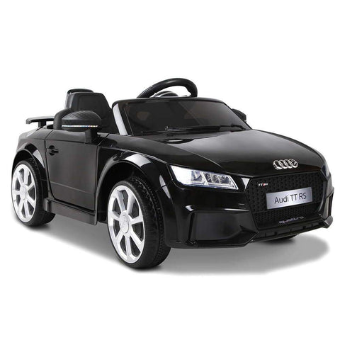 Audi TT RS Licensed  Electric Ride on Car - Black