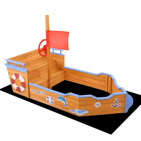 Ahoy Boat Sand Pit With Step