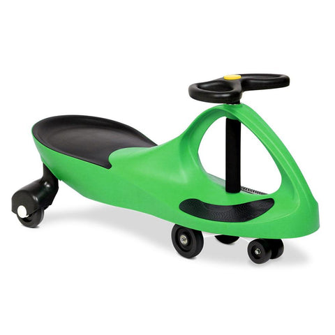 Wiggle Scooter Swing Ride On Car - Green