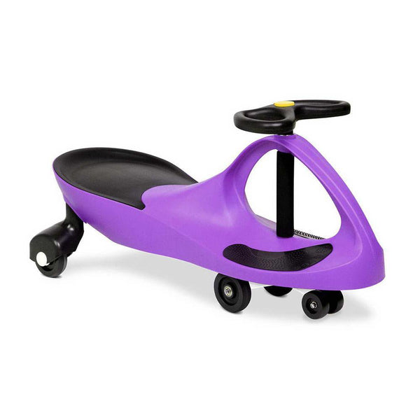 Wiggle Scooter Swing Ride On Car - Purple