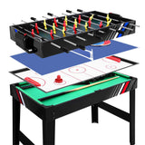 4-In-1 Games Table Tennis/Ice Hockey/Pool/Foosball