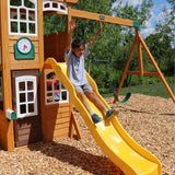 Kidkraft Castlewood Double Slide Play Centre