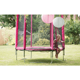 Plum 6ft Junior Trampoline & Enclosure - pink - Swing and Play - 3