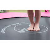 Plum 6ft Junior Trampoline & Enclosure - pink - Swing and Play - 4