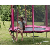 Plum 6ft Junior Trampoline & Enclosure - pink - Swing and Play - 5