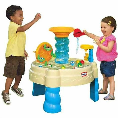 water tables – swing and play