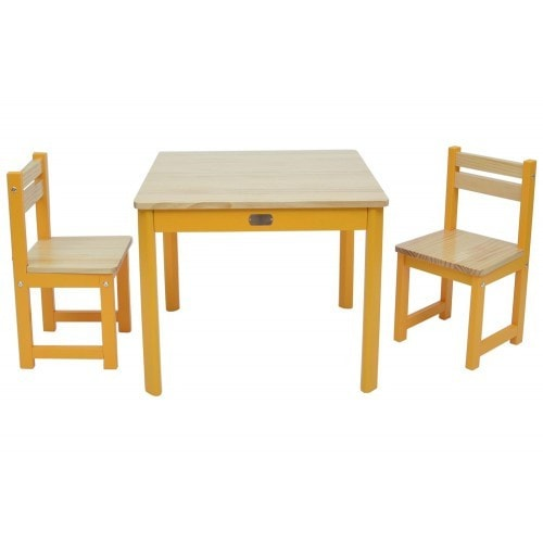 TikkTokk Envy Table & Chairs Set - Yellow