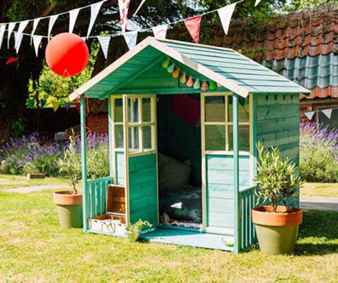 Plum Deckhouse Wooden Play House