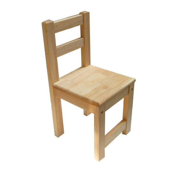Qtoys Rubber Wood Standard Chair