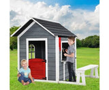 Wooden Cubby & bench Play House