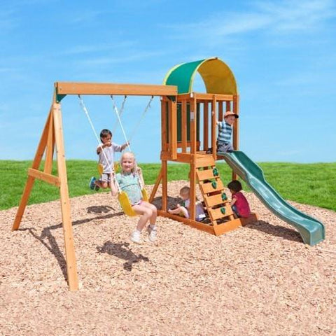 KidKraft Ainsley Outdoor Play Swing Set