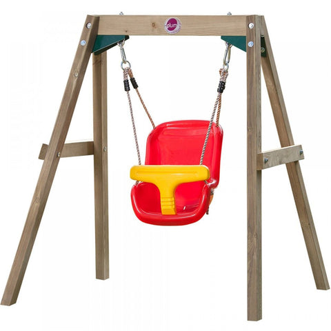 Plum Wooden Baby Swing Set - Swing and Play - 1