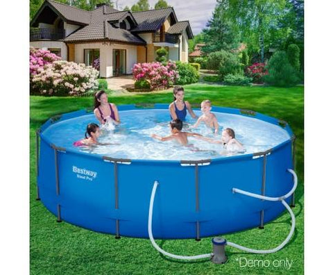 Bestway Round Pool With Pump - 3.66m