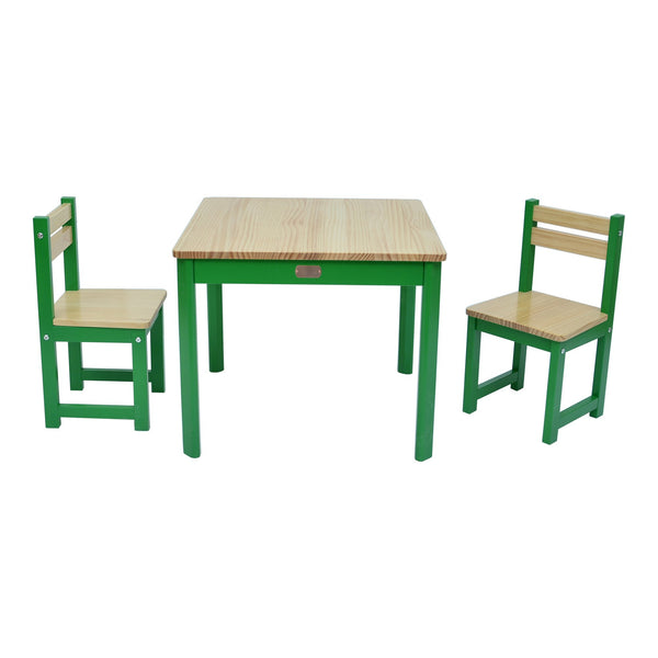 TikkTokk Envy Table & Chairs Set - Green
