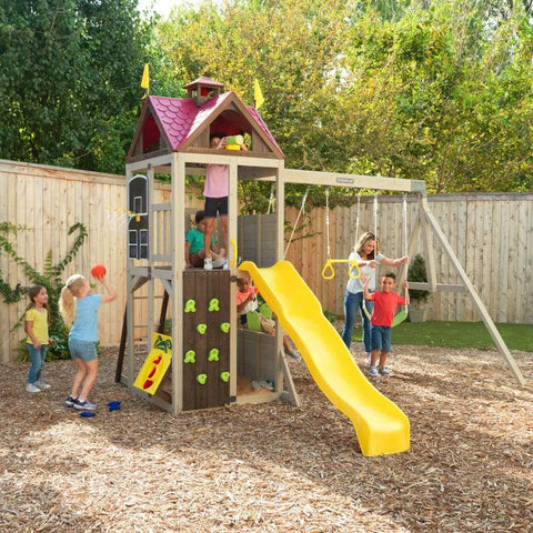 Kidkraft Summerhill Wooden Swing Set Play centre