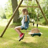 Plum Gibbon Wooden Swing Set - Swing and Play - 3