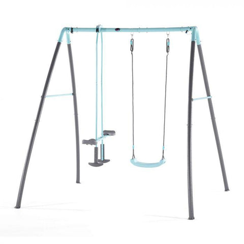 Plum Premium Metal Single Swing & Glider With Water Mist