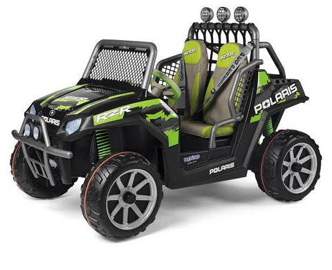 Peg-Perego Polaris Ranger RZR 24v Ride On - Green Shadow