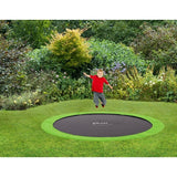 Plum 8ft In-Ground Trampoline - Swing and Play - 3