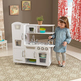 KidKraft White Vintage Kids Play Kitchen