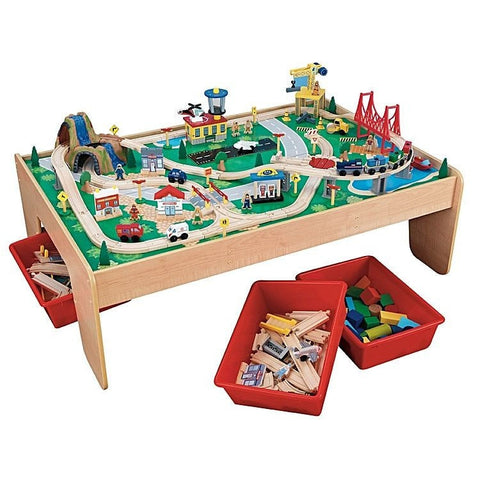 KidKraft Waterfall Mountain Train Set