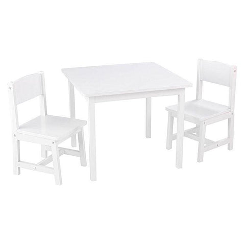 KidKraft Aspen Table & Chairs Set - White
