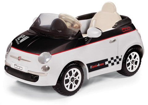 peg-perego Fiat 500 White 12v Ride On