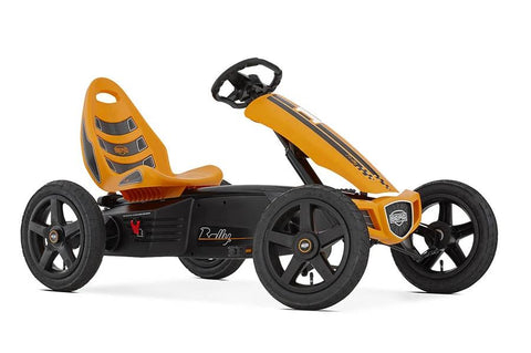Berg Rally Orange Go Kart - 4-12 Years