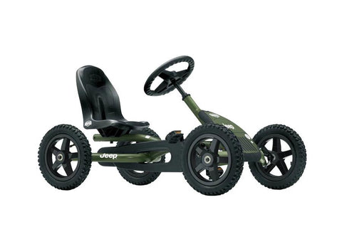 Berg Jeep® Junior Pedal Go-kart - 3-8 Years