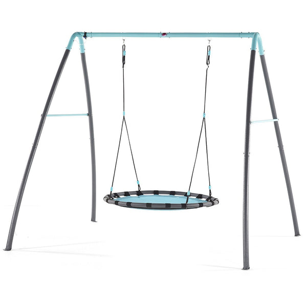 Plum Premium Metal Nest Swing With Water Mist