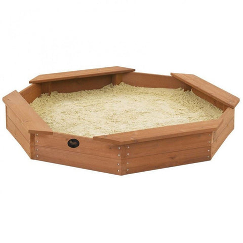 Plum Treasure Beach Wooden Sand Pit - Swing and Play - 1