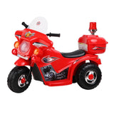 Patrol Electric Ride on Motorbike - Red