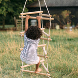 Plum 3 Sided Rope Ladder Swing Accessory - Teal Hangers