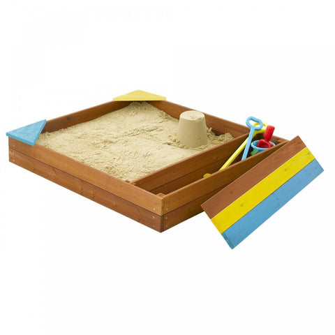 Plum Store-it Wooden Sand Pit - Swing and Play - 1