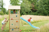 Plum Lookout Tower Wooden Climbing Frame with Swings - PRE-ORDER