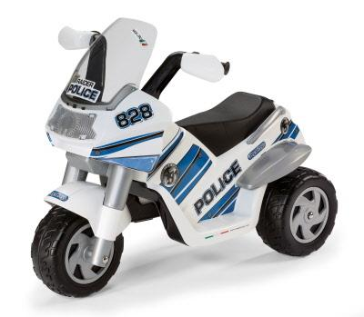 peg-perego Raider Police 6v Motorbike Ride On
