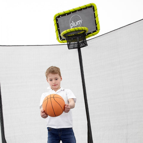 Plum Trampoline Basketball Kit - Swing and Play - 1