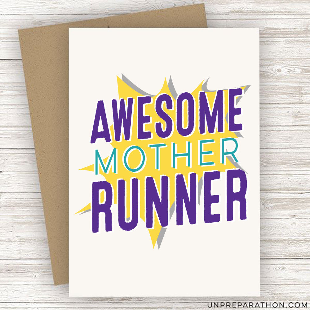 AWESOME MOTHER RUNNER