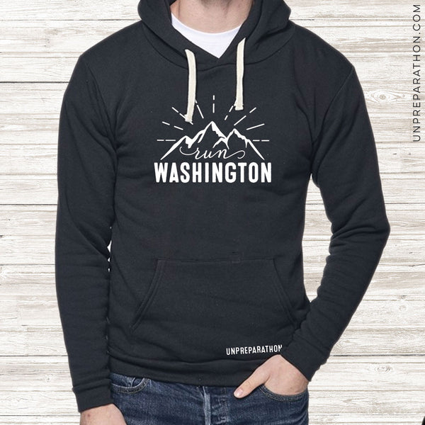 Hoodie • Run Washington •