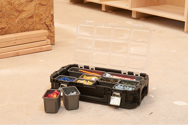 Keter Connect Rolling Tool Storage System