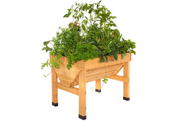 VegTrug Wooden Planter Natural - Small