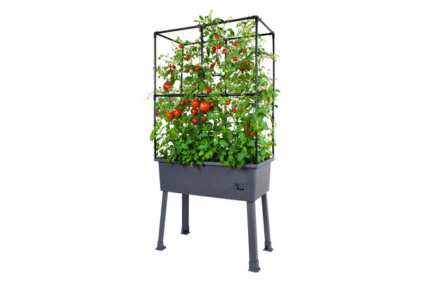 Greenlife Mobile Planter Box with Greenhouse + Leg Kit