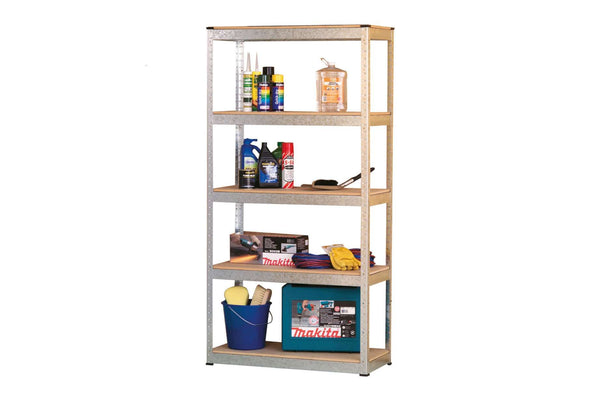 Hammer Lok HLS402 Steel Shelving - 1800 x 900 x 600mm