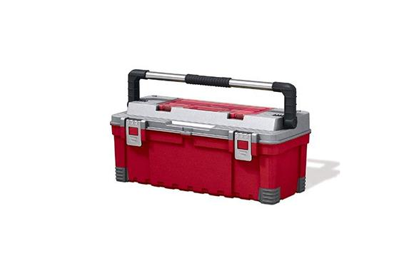 Keter Hawk Tool Box with lid Organizer - 26""